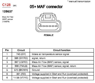 1999 ford f350 engine schematics adapting 05gt maf to 99 04 forums at modded mustangs  adapting 05gt maf to 99 04 forums at modded mustangs