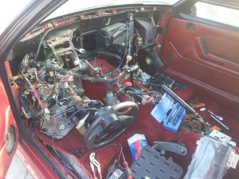 wiring harness question fox body forums at modded mustangs. Black Bedroom Furniture Sets. Home Design Ideas