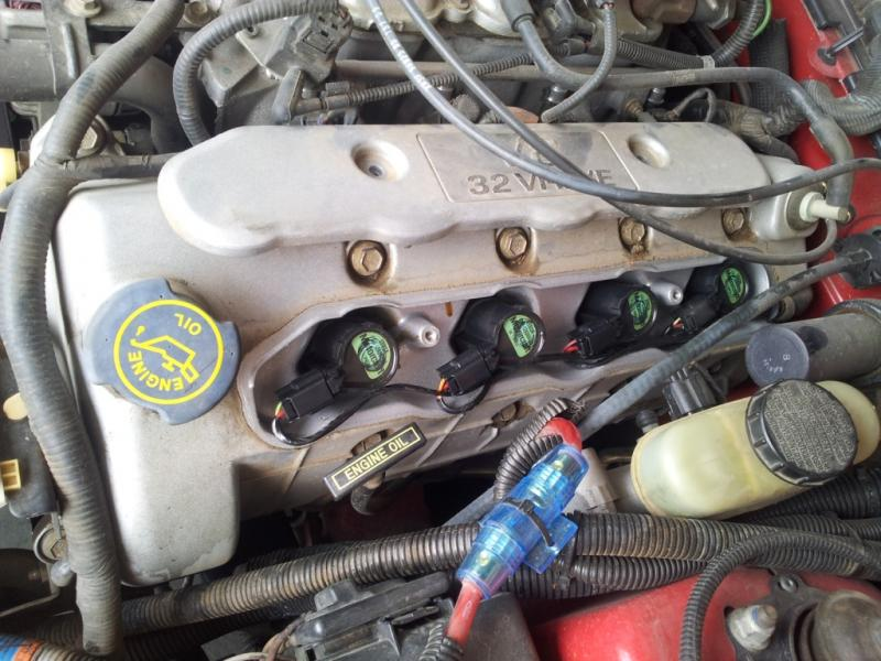 2013 Ford Focus Oil Change >> Changing spark plugs - Location help - Forums at Modded Mustangs