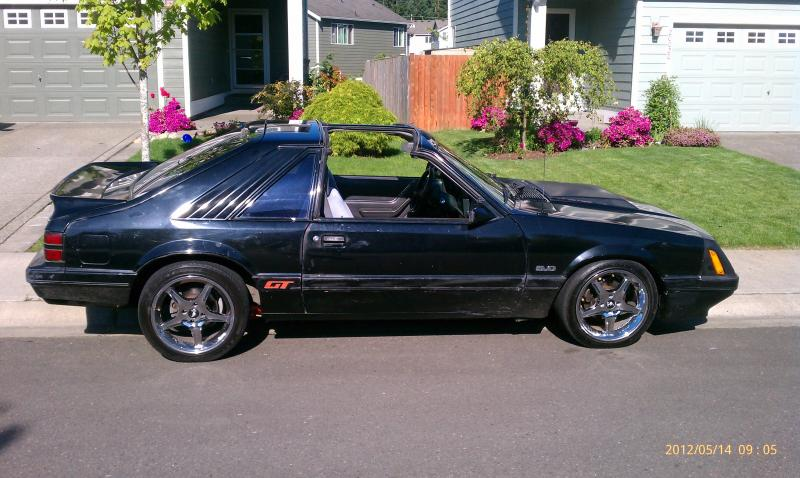 Best 4-lug Fox Wheel Pics (no Conversions) - Forums at Modded Mustangs