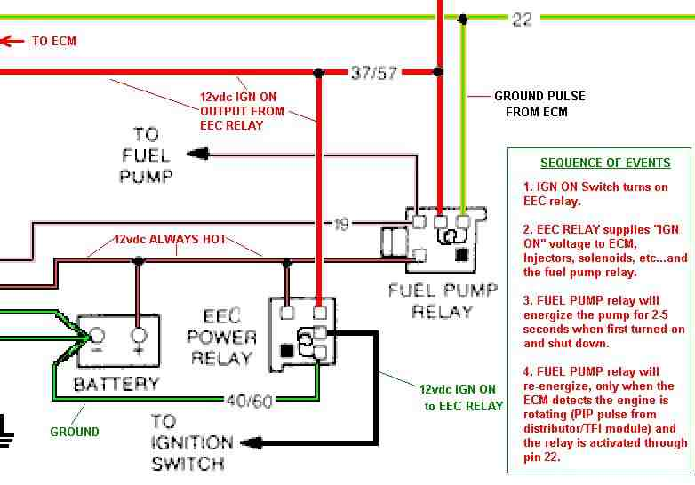 fuel pump issue forums at modded mustangs rh moddedmustangs com Lockout Relay Circuits Automotive Relay Wiring Diagram