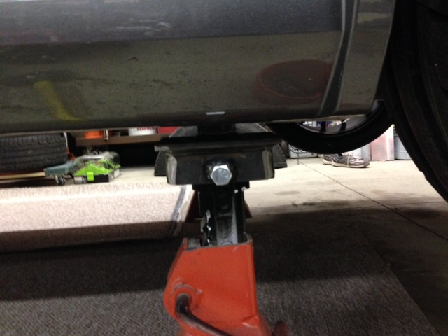Pinch Weld Jack Stand Adapters Forums At Modded Mustangs