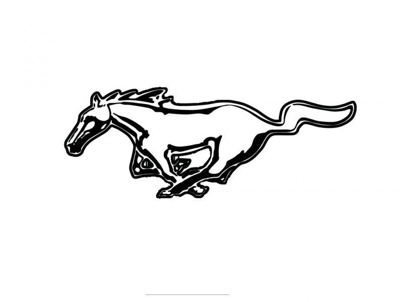 Mustang emblem - photo#27