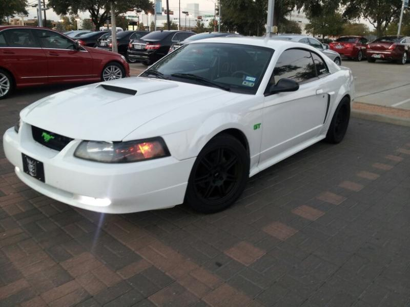 Pic Request White New Edge Black Wheels Forums At Modded Mustangs