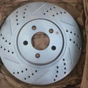 baer mach1 slotted vented rotors